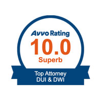 AVVO OVI-DUI Lawyer Superb rating 10.0